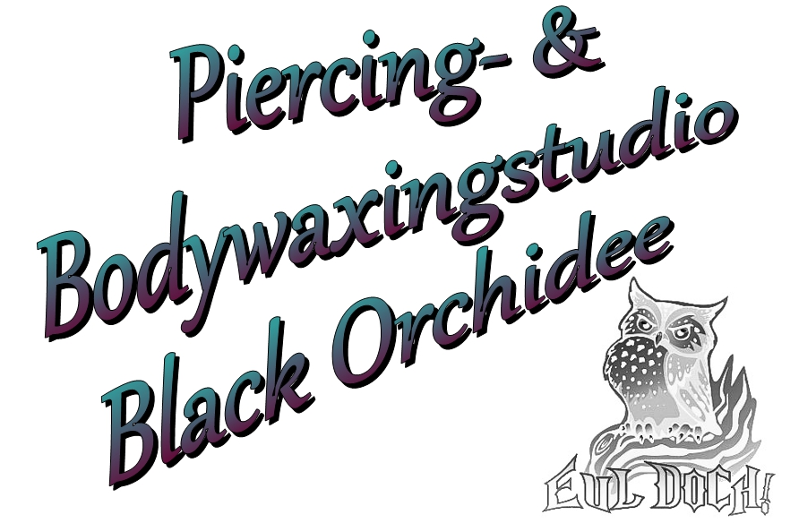 Piercingstudio Black Orchidee Logo